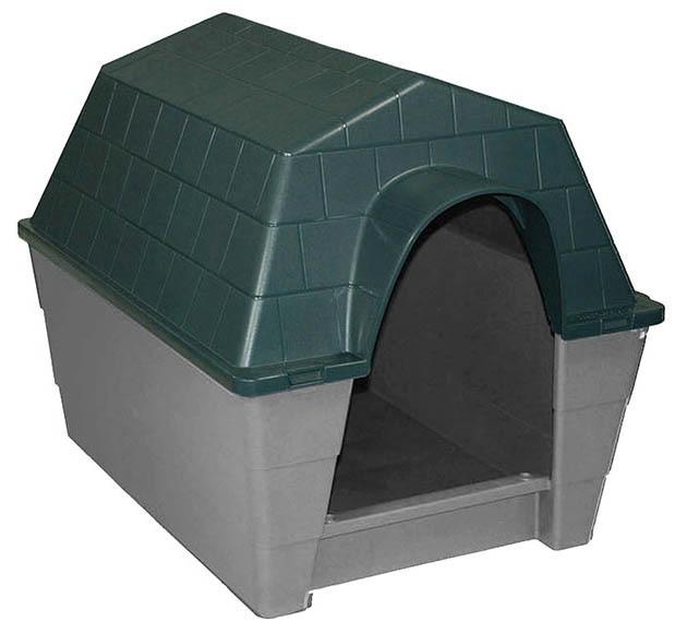 Caseta de resina dog ref 14130676 leroy merlin - Casetas para perros ...