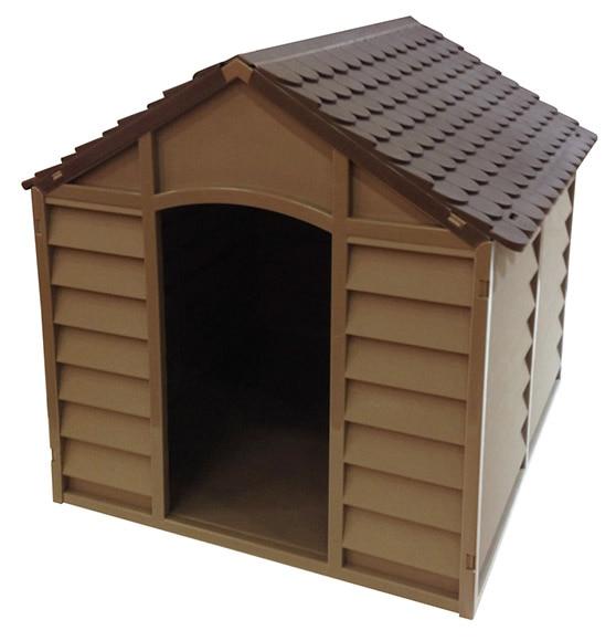 Caseta de perro resina ref 16562084 leroy merlin for Caseta jardin leroy merlin