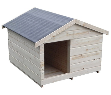 Caseta de madera de pino anuka ref 16699123 leroy merlin for Vallado de madera jardin leroy merlin