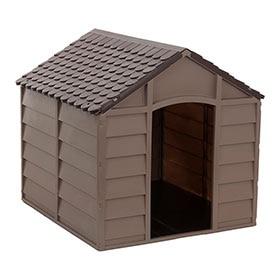Casetas para perro leroy merlin for Casetas de resina para exterior