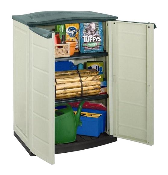Armario de exterior keter compact shed ref 14695002 - Armarios bajos de resina ...