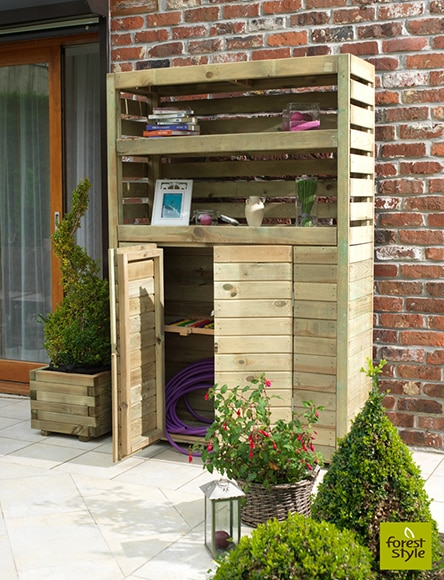 Armario de madera de pino beli ref 15626282 leroy merlin - Armario para jardin ...