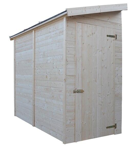 Armario de madera de abeto conde ref 16732954 leroy merlin for Armarios de exterior leroy merlin