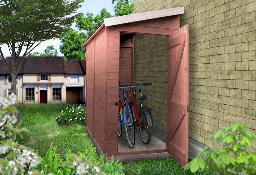 Casetas para guardar bicicletas stunning ampliar imagen for Caseta para guardar bicis