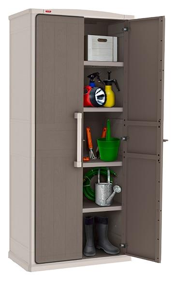Armario de resina wonder shelves ref 17518466 leroy merlin - Armarios de resina para exterior ...