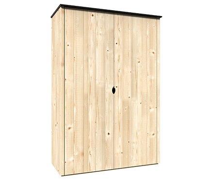 Armario de madera de pino v rtigo 120x57cm ref 18062786 - Puertas color pino ...