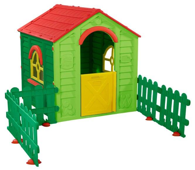 Caseta infantil de 114 m2 rancho fence 5 ref 14815255 leroy merlin - Leroy merlin casitas infantiles ...
