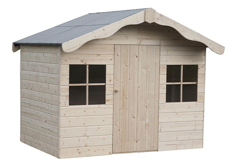 Caseta infantil de 2 37 m2 aurelie ref 16154761 leroy - Casa madera infantil ...