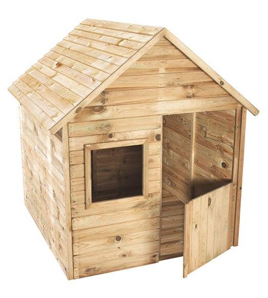 Caseta infantil de 1 56 m2 marina ref 16280145 leroy merlin - Casetas de madera infantiles ...
