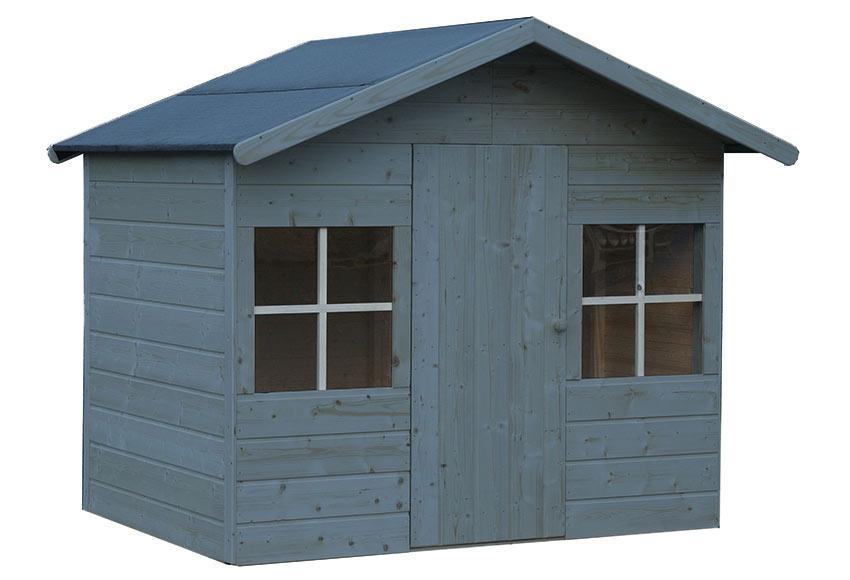 Caseta infantil de 2 42 m2 clara ref 16699130 leroy merlin - Caseta perro leroy merlin ...