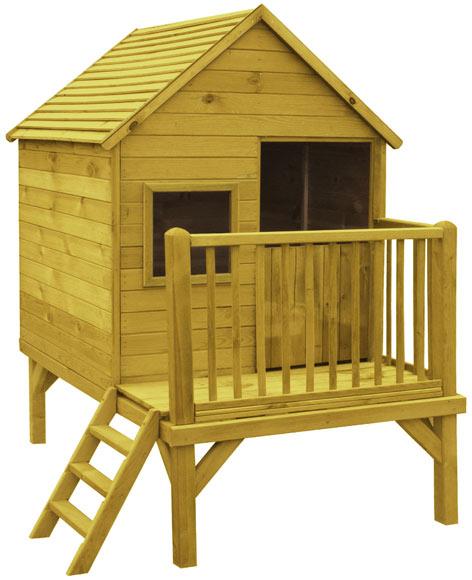 Caseta infantil de 2 86 m2 winnie ref 17542392 leroy merlin - Casetas para ninos ...