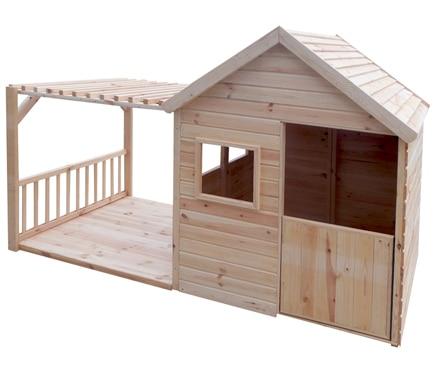 Caseta infantil de 2 63 m2 margot ref 19093886 leroy merlin - Casetas madera jardin leroy merlin lille ...