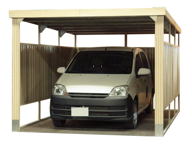 cochera de 2 57 x 3 81 m pvc imitaci n madera ref