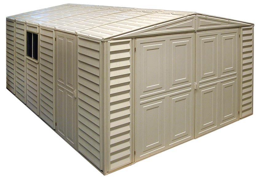 Garaje bergerac ref 14776006 leroy merlin - Garajes prefabricados precios ...