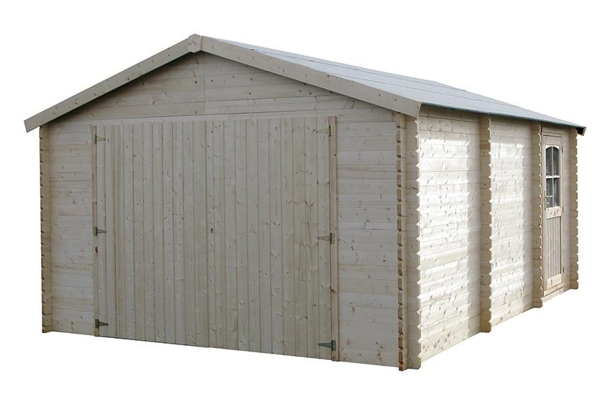 Garaje de madera de abeto 21 04 m2 garodeal ref 16699116 - Garage de madera ...