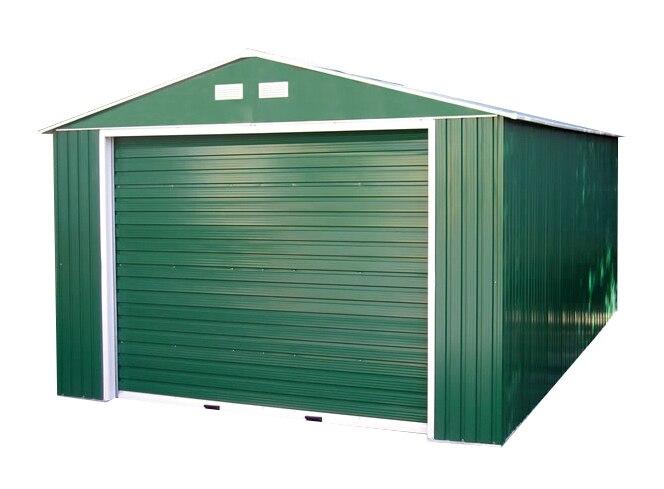 Garaje de acero de 22 48 m2 lyon ref 16755151 leroy merlin for Se vende garaje