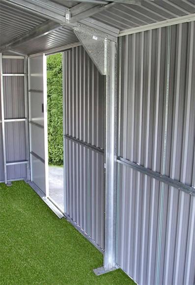 Garaje de acero de 22 48 m2 lyon ref 16755151 leroy merlin - Garajes prefabricados precios ...