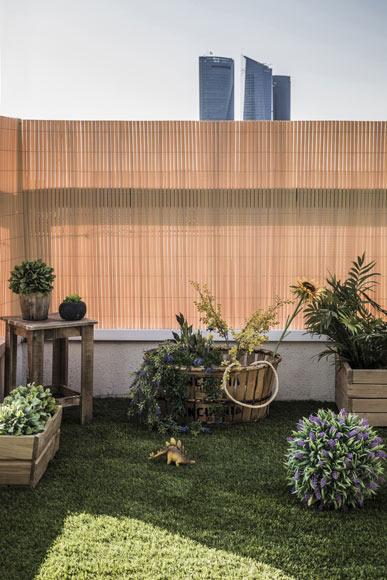 Ca izo artificial bamb medidas 1 5 x 5 metros naterial - Canizo de bambu ...