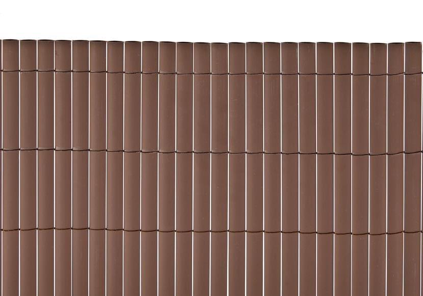 Ca izo artificial chocolate medidas 2 x 5metros naterial - Canizo para jardin ...