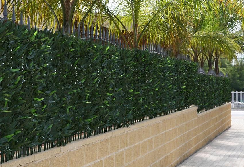 Seto artificial verde medidas 1 x 3 metros ficus ref - Seto artificial leroy merlin ...