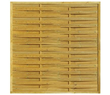 Panel de madera trenzado feng 179 x 179 cm ref 13226185 - Paneles madera jardin ...