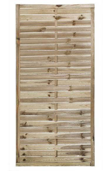 Panel trenzado natural 90 x 180 cm ref 13247283 leroy - Celosias de madera leroy merlin ...