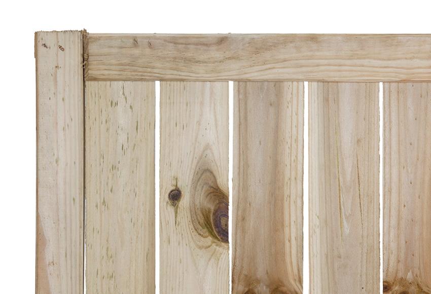 Panel trenzado natural 90 x 180 cm ref 13247283 leroy - Paneles madera jardin ...