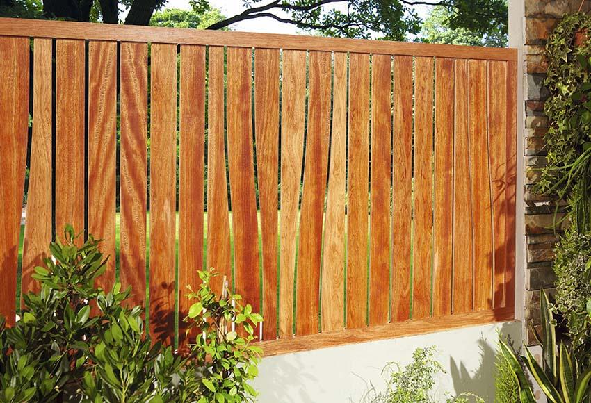 Panel curves rosado 90 x 180 cm ref 16108925 leroy merlin - Paneles de madera para jardin ...