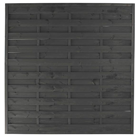 Panel lucie gris 180 x 180 cm ref 17542441 leroy merlin - Ocultacion para jardin ...