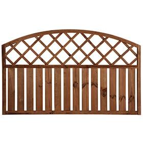 valla de madera rodeo arco cm