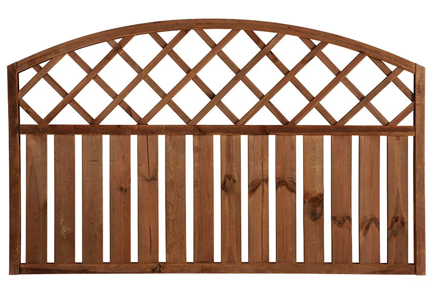 Valla de madera rodeo arco 90 cm ref 13225422 leroy merlin - Vallas para parcelas ...