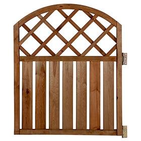 Valla de madera rodeo arco 90 cm ref 13225422 leroy merlin - Puertas madera leroy merlin ...