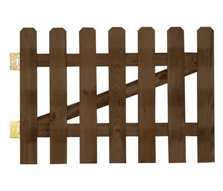 Comprar vallas de madera tratada compara precios en - Postes de madera leroy merlin ...