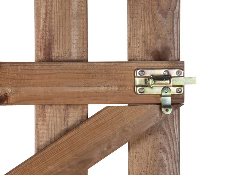Puerta de madera mustang 100 cm ref 13778443 leroy merlin - Puertas de madera leroy merlin ...