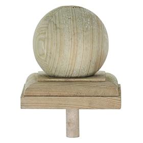 Valla de madera country bangkirai 100 cm ref 14658490 - Postes de madera leroy merlin ...