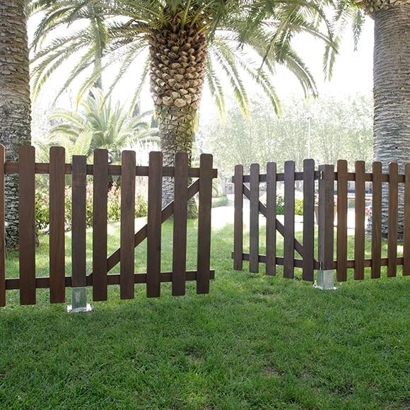 Valla de madera ipe 100 cm ref 15028566 leroy merlin - Valla madera leroy merlin ...