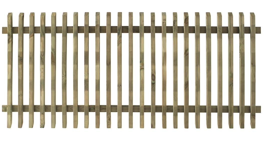 valla de madera pika 80 x 180 cm