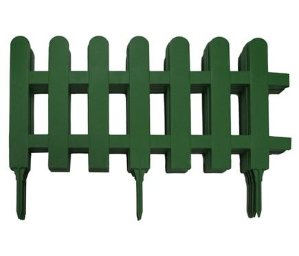 Bordura de resina verde 312 x 40 cm ref 12948173 leroy - Valla jardin pvc ...