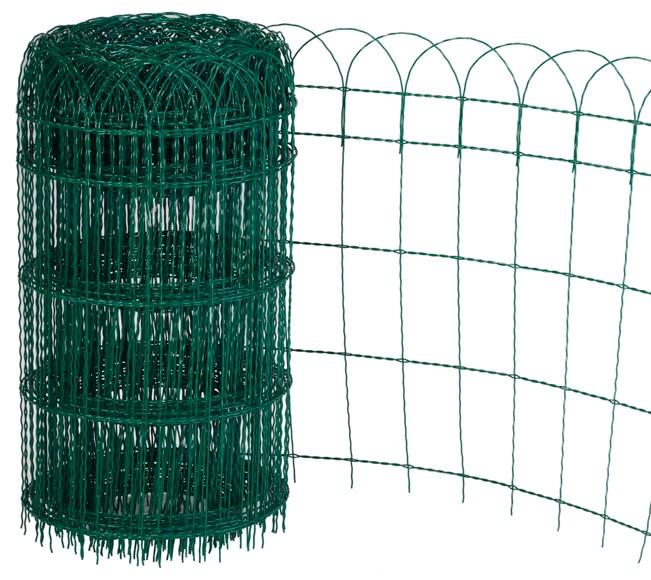 Bordura de acero verde 1000 x 65 cm ref 13589835 leroy for Bordura leroy merlin