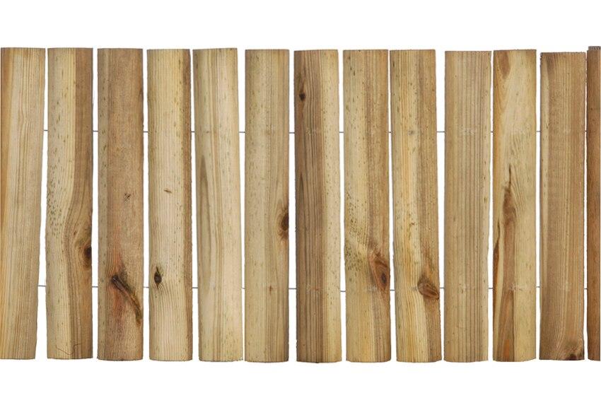 Bordura de madera 180 x 30 x 5 cm ref 14091413 leroy merlin for Bordura leroy merlin
