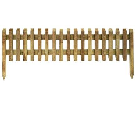 Bordura de madera pika 28 45 x 112 cm ref 16711121 for Bordura leroy merlin