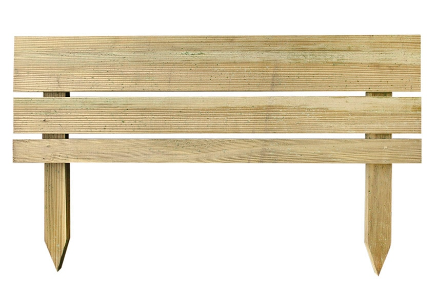 Bordura de madera 80 x 30 cm ref 17542483 leroy merlin for Bordura leroy merlin