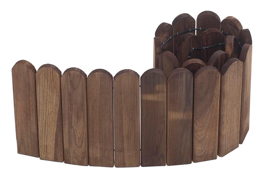 Bordura de madera 120 x 20 x 5 cm ref 17566402 leroy merlin for Bordura leroy merlin