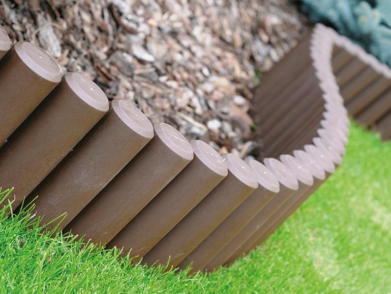 Bordura de resina chocolate 270 x 15 5 cm ref 17981551 for Bordura leroy merlin