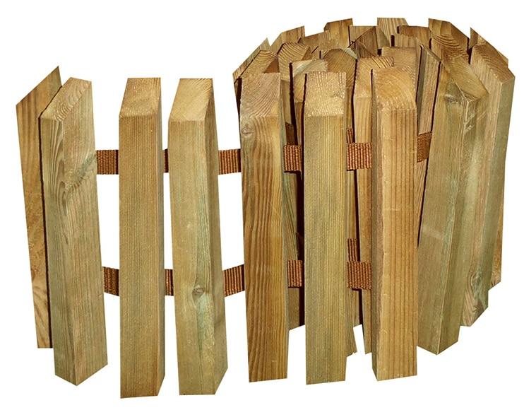 Bordura de madera 28 x 150 cm ref 19487895 leroy merlin for Bordura leroy merlin