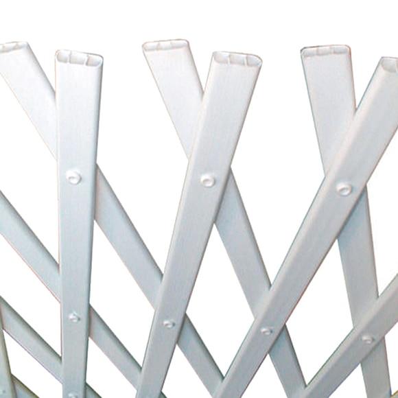 Celos a pvc extensible blanca 50 x 150 cm ref 11894022 - Celosias pvc leroy merlin ...