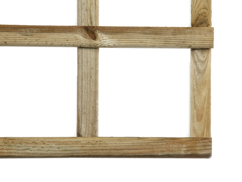 Celos a de madera onuba 90 x 180 cm ref 13226451 leroy - Celosias de madera leroy merlin ...