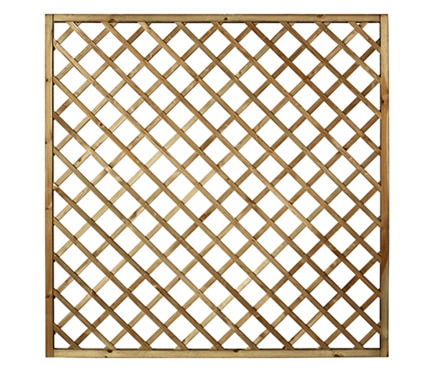 Celos a de madera diagonal natural 179 x 179 cm ref - Celosias de madera leroy merlin ...