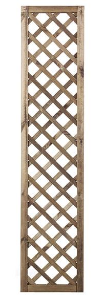 Celos a de madera tintada premices 40 x 180 cm ref - Celosia leroy merlin ...