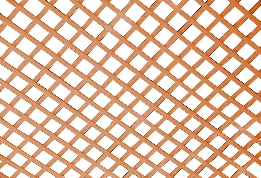 Celos a pvc madera 100 x 200 cm ref 14508711 leroy merlin - Celosia de madera para jardin ...